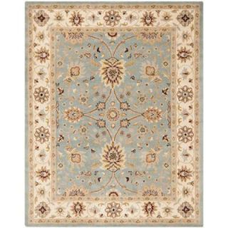 Safavieh Antiquity Light Blue/Ivory 8 ft. 3 in. x 11 ft. Area Rug AT249A 9