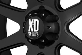 "XD Series XD79829063712N   6 x 135mm Bolt Pattern Black 20"" x 9"" 798 Addict Matte Black Wheels   Alloy Wheels & Rims"