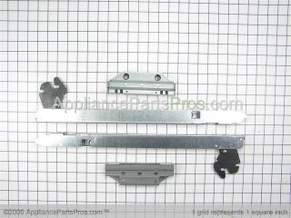 Whirlpool 12002111 Door Hinge Kit
