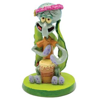 Penn Plax Nickelodeon SpongeBob SquarePants Squidward Mini Resin