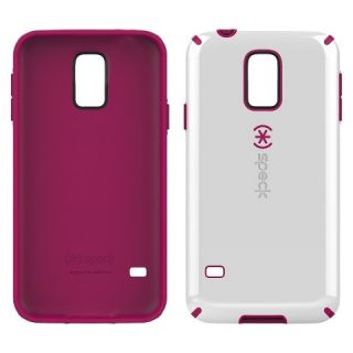 Speck CandyShell Cell Phone Case for Samsung Galaxy S5   Pink/White