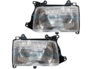 93 98 Toyota T 100 T100 Pickup Truck Headlight Headlamp Composite Halogen Front Head Light Lamp Set Pair Left Driver And Right Passenger Side