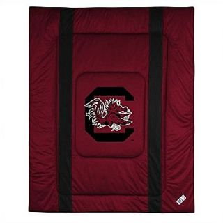 Sports Coverage NCAA University of South Carolina Sidelines Comforter; Full/Queen