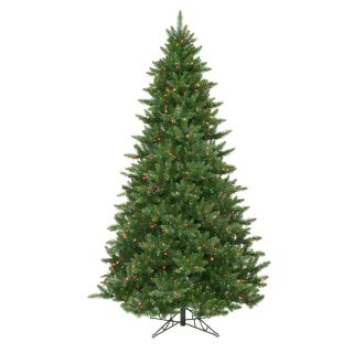 58 Camdon Fir Tree with 1050 Multi Colored Dura Lit Lights