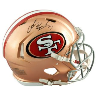 Colin Kaepernick San Francisco 49ers  Authentic Autographed Riddell Pro Line Speed Authentic Helmet