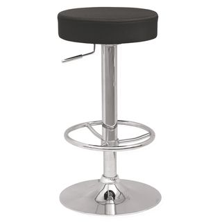 Backless Pneumatic Gas Lift Adjustable Stool with Three Extra Slip