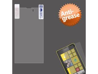 Clear Anti grease LCD Screen Protector Cover for NOKIA: 520 Lumia 520