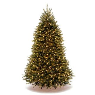 National Tree Co. Dunhill Fir 7.5 Hinged Artificial Christmas Tree