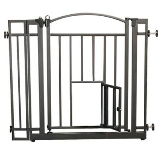 Carlson Pet Products Design Studio Walk Through Pet Gate with Small