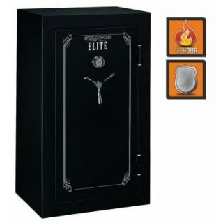 Stack On 36 Gun Elite 22 cu. ft. Fire Resistant Electronic Lock Safe with Door Storage E 36 MB E S