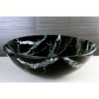 Kingston Brass Fauceture Double Layer Glass Vessel Sink