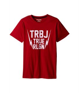 True Religion Kids Thunder Bolt Tee Shirt Big Kids True Red, Red