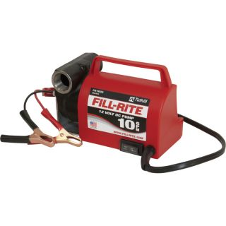 Fill-Rite Diesel Fuel Transfer Pump — 12 Volt, 10 GPM, Model# FR1612