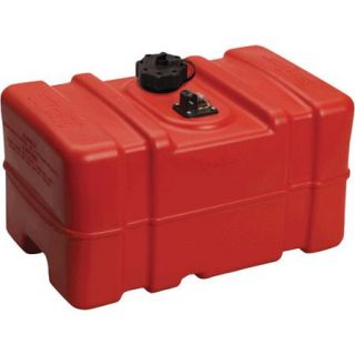 "Moeller Low Perm Certified Fuel Tank 12 Gallon with 1/4"" Fuel Pick Up Adapter and Mechanical Direct Sight Gauge"