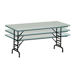 Correll Metal, Plastic & Resin Commercial Duty Folding Table
