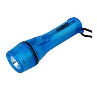 41 2952 Dorcy Dorcy Gel Brite LED Flashlight with 2x AA Batteries, 40 Hours Run Time, 50m/164.04 Beam Distance