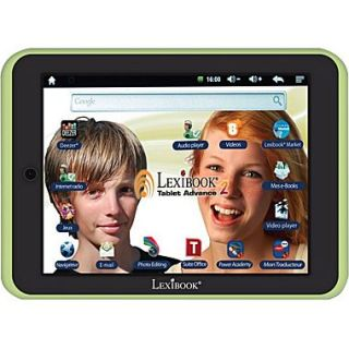 Lexibook Advance2 MFC181EN, 8 Tablet, 8 GB, Android Jelly Bean, Wi Fi, Green