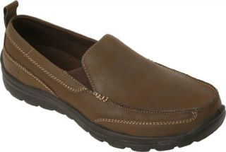 Mens Deer Stags Everest Slip On   Brown
