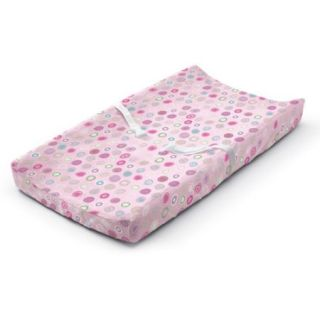 Summer Infant Changing Pad Cover, Pink Swirl