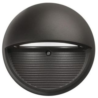 Lithonia Lighting Dark Bronze Indoor/Outdoor Round LED Step Light OLSR DDB NAHD M6