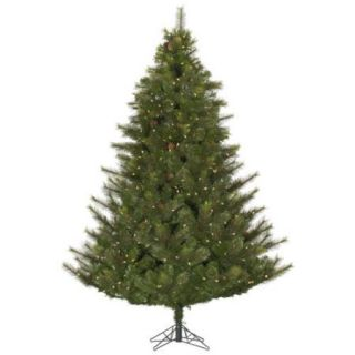 6.5' Full Modesto Mixed Pine Artificial Christmas Tree   Warm White LED Lights