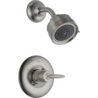Delta Grail Single Handle 1 Spray Shower Only Faucet in Stainless Trim Kit Only DISCONTINUED T14285 SS