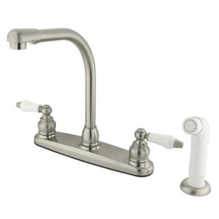 Kingston Brass GKB718 Satin Nickel Kitchen Faucet