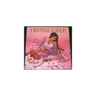 Crystal Gayle Autographed We Must Believe In Magic Lp Record Album Cover