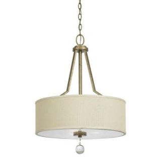 Yosemite Home Decor Lewisia Collection 3 Light Hanging Pendant DISCONTINUED TWC5474P 3GD