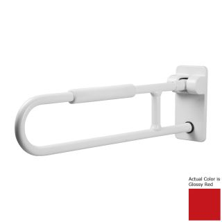 Ponte Giulio USA Glossy Red Wall Mount Folding Grab Bar