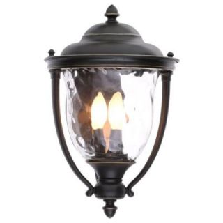 Progress Lighting Prestwick Collection 3 Light Oil Rubbed Bronze Wall Lantern P5923 108
