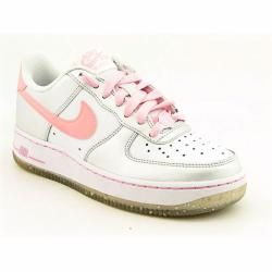 Nike Youth Kids Girlss Air Force 1 White Athletic (Size 5