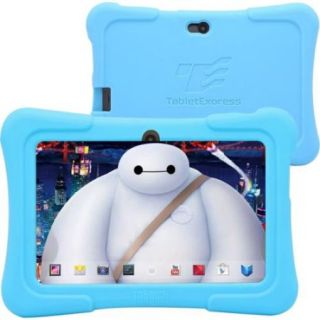 "Tablet Express Dragon Touch 7"" Android Kids Tablet   Blue   PC Platform   1.2 GHz Processor   512 MB RAM   8 GB   Quad C"