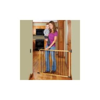 KidCo Designer Angle Mount Safeway Gate G2400   Oak