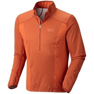 Mountain Hardwear Effusion Power Pullover Jacket (For Men) 5497F
