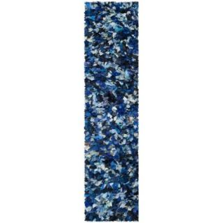 Safavieh Shag Blue & Black Area Rug