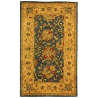 Safavieh Antiquity Blue 3 ft. x 5 ft. Area Rug AT21E 3