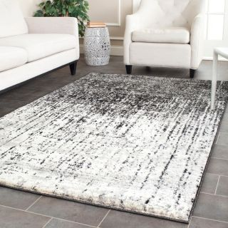 Safavieh Deco Inspired Black/ Grey Rug (5 x 8)   14143315