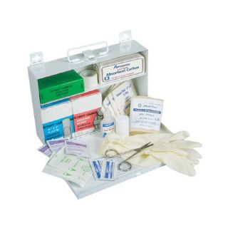 Swift First Aid 25 Person First Aid Kits   #25 standard plastic w