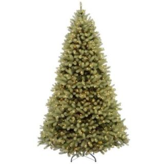 7.5 ft. Feel Real Downswept Douglas Fir Artificial Christmas Tree with 750 Color Choice LED Lights PEDD4 312LD 75S