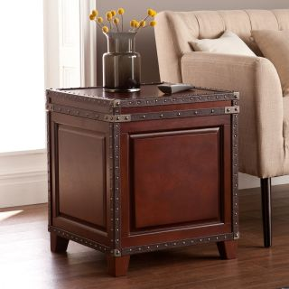 Southern Enterprises Amherst Trunk End Table   End Tables