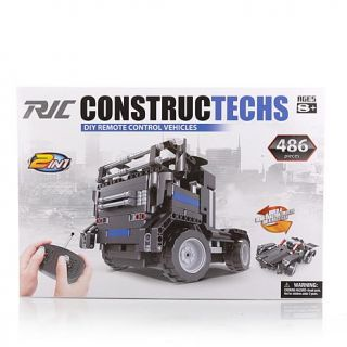 Constructechs DIY 2 in 1 Remote Controlled Semi Truck/Race Car   8111070