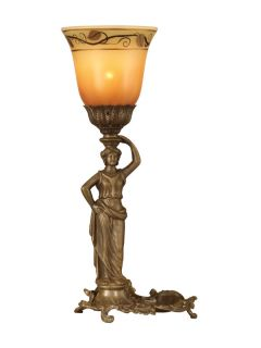 Dale Tiffany TA10516 Antique Brass