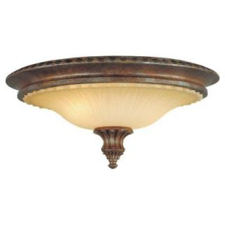 Feiss Stirling Castle 2 Light British Bronze Indoor Flushmount FM232BRB