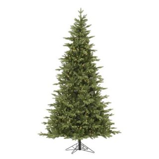 ft. Balsam Fir LED Pre lit Artificial Christmas Tree   Warm White