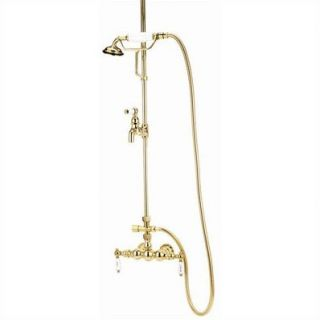 Elizabethan Classics Wall Mount Diverter High Tub and Shower Faucet