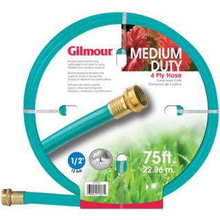 Gilmour 15 12075 1/2 in X 75 4 Ply Medium Duty Garden Hose