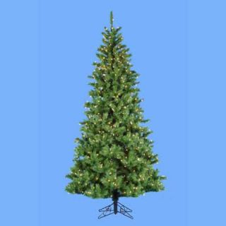 ft. Sugar Pine Slim Pre Lit Christmas Tree   Christmas Trees