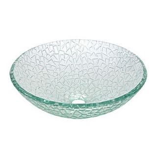 Kingston Brass Nordica Crystal Glass Vessel Bathroom Sink