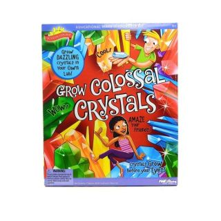 Scientific Explorers Grow Colossal Crystals Kit   13021597